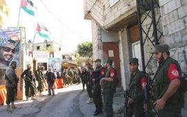 """بدء إزالة المظاهر المسلحة بمخيم """"المية ومية"""" في لبنان"""