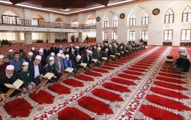 """تركيا.. تلاوة القرآن على طريقة """"المقابلة"""" تضفي جوّا روحانيا"""
