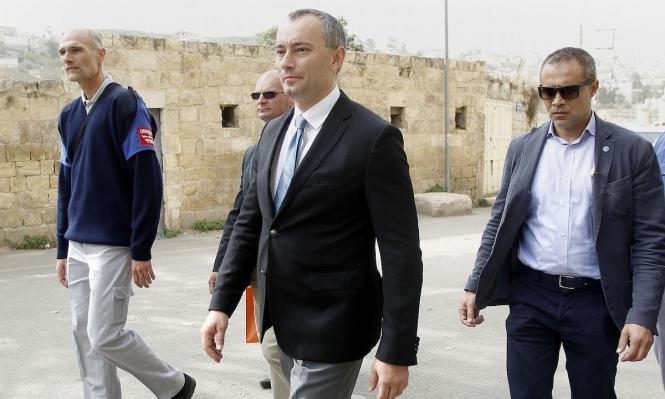 ملادينوف في غزة للاجتماع بقادة حماس
