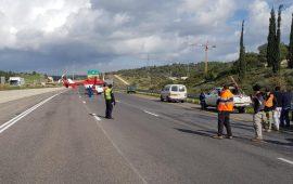 حادث طرق قرب الجش يسفر عن مصرع سائق دراجة نارية