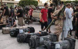 ليبيا.. طائرة مجهولة تقصف غريان وقوات حفتر تهدد الوجود التركي