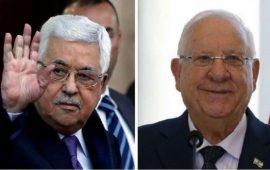 عباس يعزي الرئيس الإسرائيلي بوفاة زوجته