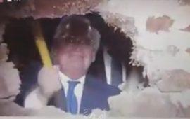 بالفيديو: السفير الأمريكي فريدمان يفتتح نفقًا أسفل سلوان جنوب المسجد الأقصى