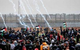 """جماهير قطاع غزة تتجهز لـ """"جمعة الأرض مش للبيع"""""""