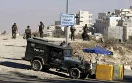 قوات الاحتلال تقتحم العيسوية وتنكل بالمواطنين