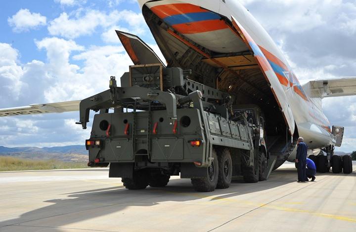 """استمرار وصول معدات منظومة """"أس400"""" إلى أنقرة"""