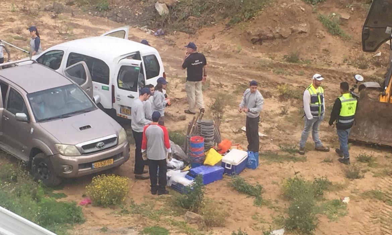 يافا: اصدار أمر إحترازي ثابت بمنع الأعمال في مقبرة الاسعاف