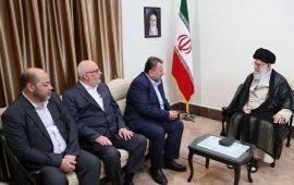 وفد قيادي من حماس يلتقي المرشد الأعلى الإيراني في طهران