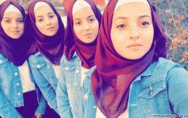 4 شقيقات فلسطينيات توائم يحفظن القرآن ويتفوقن بالثانوية العامة