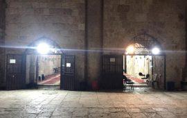 الاحتلال يقتحم مصلى باب الرحمة في الأقصى ويعبث في داخله