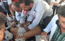 شهيدان وعشرات الإصابات برصاص الاحتلال شرق قطاع غزة (محتلن)