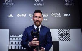 رسمياً: ليونيل ميسي أفضل لاعب في العالم لعام 2019