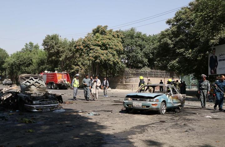 Photo of انفجارات تضرب كابول ومدنا أفغانية أخرى خلال انتخابات الرئاسة