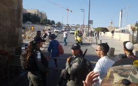 القدس: إصابة فتى برصاص الاحتلال بزعم طعنه مجندة
