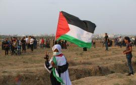 """تواصل مسيرات العودة بغزة في جمعة """"مخيمات لبنان"""""""