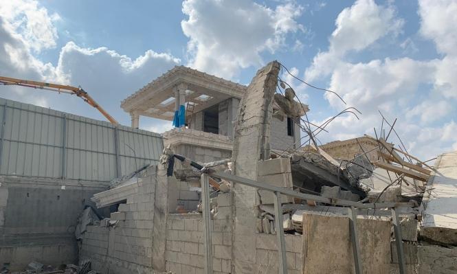 اللد: هدم منزل عائلة زيتون للمرة الثانية