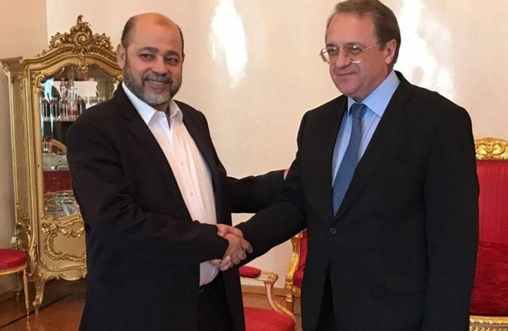 Photo of وفد قيادي من حماس يجتمع بنائب وزير الخارجية الروسي