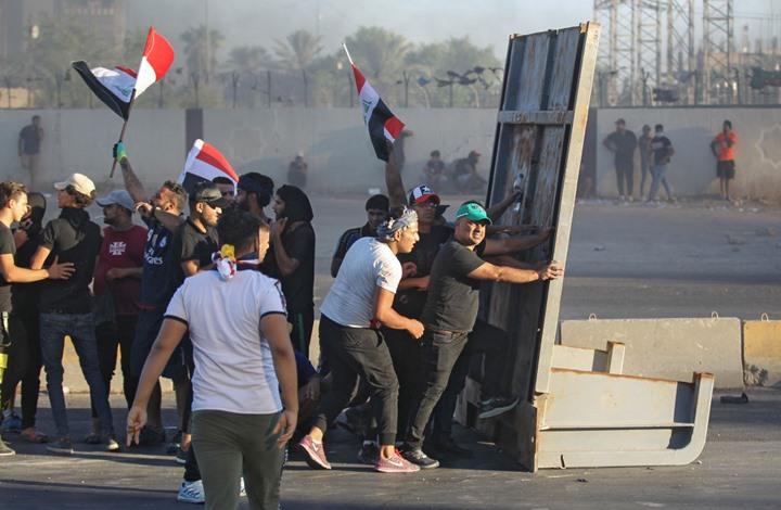 5 قتلى في تجدد الاشتباكات ببغداد بعد رفع حظر التجوال