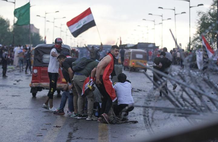 Photo of العراق.. عبد المهدي يأمر بفض المظاهرات واعتقال متظاهرين