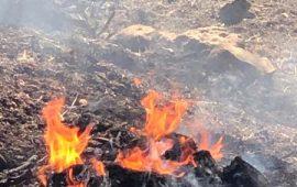 في ظل الأجواء الحارة: حرائق كبيرة في عدة بلدات عربية