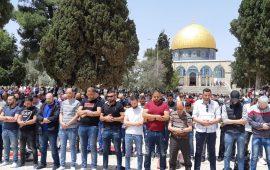 40 ألف مصل يؤدون صلاة الجمعة في المسجد الأقصى