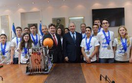 نتنياهو: مشاركة منتخبنا في أولمبياد دبي للروبوت لم تكن صدفة