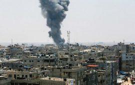 العدوان يتصاعد على غزة.. 14 شهيدًا و 72جريحًا