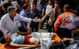 طوارئ في مشافي غزة بالتزامن مع العدوان الإسرائيلي