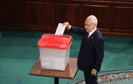 بالأغلبية.. انتخاب راشد الغنوشي رئيسا للبرلمان التونسي