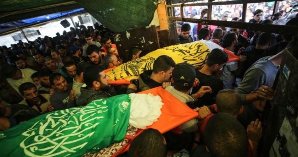 Photo of غزة تودع ثلة من شهداء العدوان الإسرائيلي