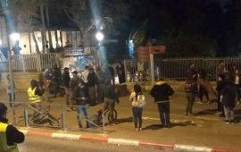 الاحتلال يقمع وقفة في القدس تضامنا مع غزة