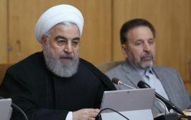 إيران.. احتجاجات عنيفة وروحاني يعد بتقديم مساعدات للمحتاجين