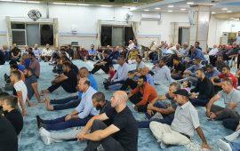 المئات يحيون ذكرى المولد النبوي الشريف في كفر كنا