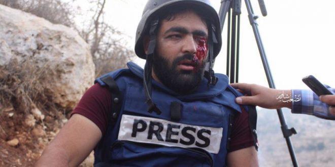 Photo of اتحاد المصورين العرب فرع فلسطين يدين الاعتداء على المصور الصحفي معاذ عمارنه من قبل قوات الاحتلال