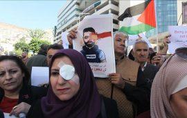 """بعد اغتيال الاحتلال """"عين معاذ"""" ناشطون: عيوننا لك"""