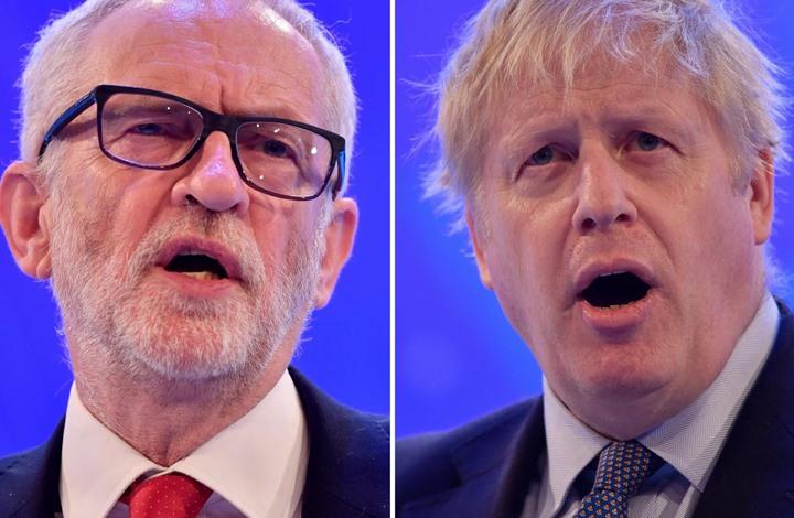 Photo of استطلاع جديد يظهر تقدم حزب جونسون بانتخابات بريطانيا