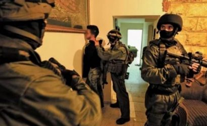 طالت 13 مواطناً.. حملة اعتقالات ومداهمات واسعة في مدن الضفة