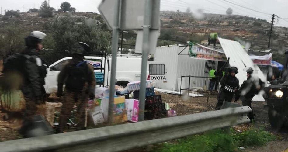 Photo of الاحتلال يهدم منشأة غربي رام الله