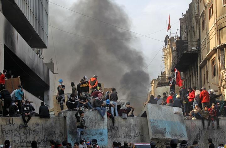 عراقيون يخشون انعكاس صراع إيران وأمريكا على تظاهراتهم