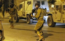 الاحتلال يعتقل فلسطينيين من طوباس