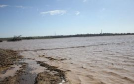 الاحتلال يواصل فتح سدود المياه لإغراق الأراضي شرق غزة