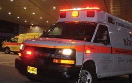 الرملة: إصابة امرأة بجراح خطيرة في حادث دهس