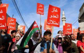 الأردن.. مسيرة حاشدة لإسقاط اتفاقية الغاز مع إسرائيل