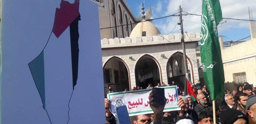 Photo of تواصل الغضب الشعبي ومسيرات حاشدة بغزة والضفة