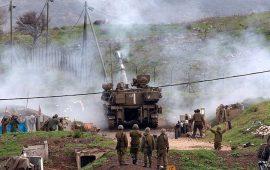 """مناورات إسرائيلية """"بالمدفعية الثقيلة"""" بمزارع شبعا اللبنانية"""