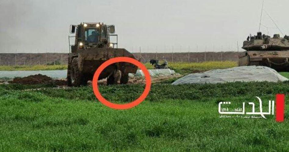 مركز حقوقي: الاحتلال ارتكب جريمة حرب شرق خانيونس