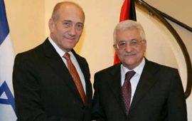 """أولمرت: عباس """"شريك إسرائيل الوحيد"""" لتحقيق السلام"""