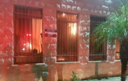 حريق في المركز الجماهير في يافا يسفر عن خسائر فادحة