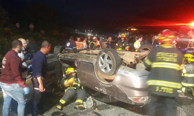 Photo of مصرع شخص و3 إصابات خطيرة بحادث طرق قرب المغار