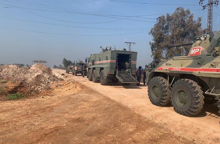 """عرقلة مستمرة لدوريات """"M4"""" بسوريا.. ونقطة تركية جديدة"""